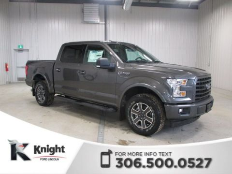 New 2017 Ford F-150 XLT Sport 4WD