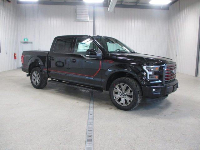 new 2017 ford f 150 lariat sport special edition crew cab pickup in moose jaw fs7891 knight. Black Bedroom Furniture Sets. Home Design Ideas
