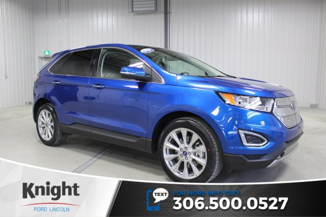 Certified Pre Owned  Ford Edge Titanium Navigation Moon Roof